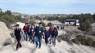 Afyon Lisesi Öğretmenlerinden Frig Vadisi turu