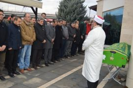 Afyonkarahisar'da hayatını kaybeden profesör için tören düzenlendi