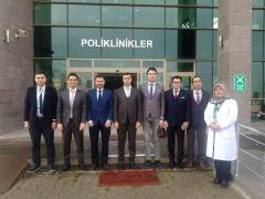 Afyonkarahisar İl Sağlık Müdürü Korkmaz'dan Şuhut'taki sağlık kurumlarını ziyaret etti