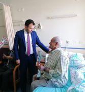 Başhekim Teberik, hastaları hakları konusunda bilgilendirdi