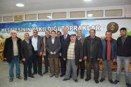 Başkan Bozkurt merkez mahalle muhtarlar ile istişare toplantısı düzenledi