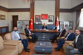 Kaymakam Kaya ve Başkanı Bozkurt'dan kamu kurumlarını ziyareti