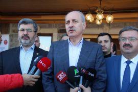 """Kurtulmuş: """"PYD, YPG ve FETÖ eli kanlı bir terör örgütüdür"""""""
