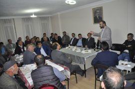 Şuhut'ta merkez ve köy muhtarları istişare toplantısı
