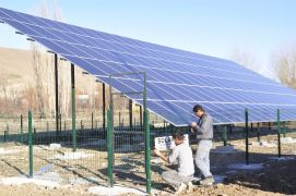 Afyonkarahisar'da 4 köyün elektrik sorunu GES projesi ile çözüldü
