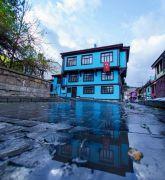 Afyonkarahisar'da kartpostallık yağmur manzaraları