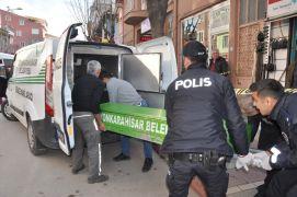 Afyonkarahisar'da şüpheli ölüm, çuvalda ceset bulundu