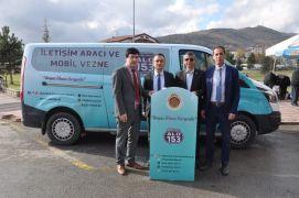 Afyonkarahisar Belediyesi Muhtarlık mobil araç hizmeti