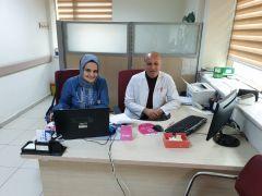 Şuhut'ta dâhiliye doktoru Terkenli göreve başladı