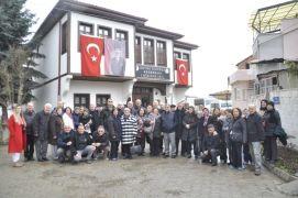 Tapu Kadastro emeklileri Atatürk Evi'ni ziyaret etti