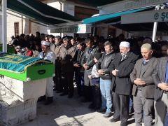 Zonguldak'taki trafik kazasında vefat eden Tunç çifti son yolculuğuna uğurlandı
