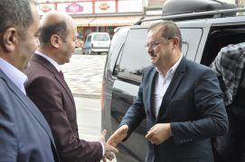 AK Parti Genel Merkez Yerel Yönetimler Bölge Sorumlusu Abdurrahman Öz'ün Şuhut ziyareti