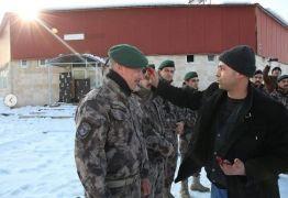 Afyonkarahisar'daki Özel Harekat Şubesi polisleri Suriye'ye uğurlandı