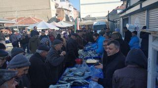 Belediyeden balık tanzim satış noktası