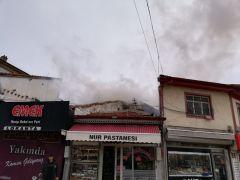 Bolvadin'de korkutan yangın