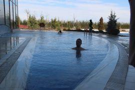 Eksi 10 derecede termal havuz keyfi