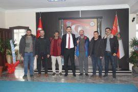Muhabirlerden yeni atanan Emniyet Müdürü Temiz'e ziyaret