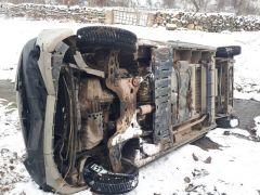 Şuhut'ta minibüs dereye uçtu: 3 yaralı