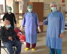 65 yaşındaki hastanın Koronavirüsten kurtuluş sevinci
