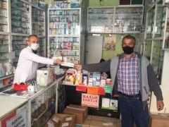 Afyonkarahisar'da ücretsiz maskeler dağıtılmaya başlandı