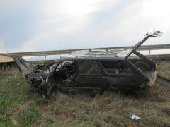 İftar için köyüne giderken kaza yaptı ve ağır yaralandı
