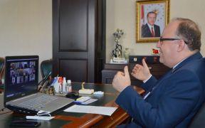 Afyonkarahisar'da termal otellerde alınan tedbiriler istişare edildi