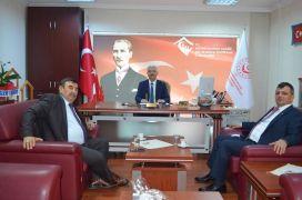 Başkan Koyuncu'dan Emniyet Müdürü Temiz'e ziyaret