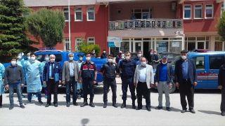 """Döğer Belediye Başkanı Demirel: """"Covid-19 sağlık taraması şahsi talebim üzerine tedbir amaçlı olarak yaptırılmıştır"""""""
