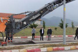 Emirdağ'da Konya Caddesi yeniliyor