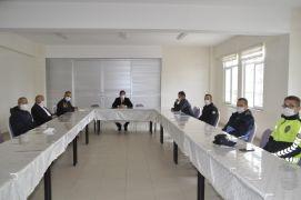 """Şuhut'ta """"Trafik Haftası İstişare Toplantısı"""" yapıldı"""
