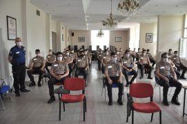 Afyonkarahisar'da çarşı ve mahalle bekçilerine 'geliştirme eğitimi' verilmeye başlandı