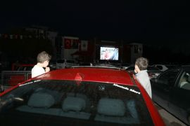 Arabada sinema keyfi