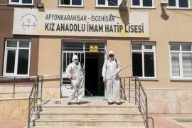 İscehisar'da okullar LGS'ye hazır