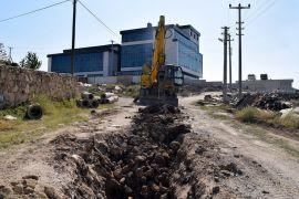 İscehisar'ın yeni devlet hastanesi için alt yapı çalışmaları