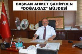 İscehisar Belediye Başkanı Ahmet Şahin'den doğalgaz müjdesi