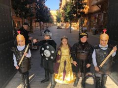 Konya'nın çocukları Afyon'un Battal Gazi Efsanesini çalıştı