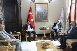 Milletvekilleri Eroğlu ve Yurdunusever'den Vali Çiçek'e ziyaret