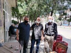 Şuhut'ta Esnaf ve Sanatkarlar Odası'ndan esnaflara dezenfektan paketi hediyesi