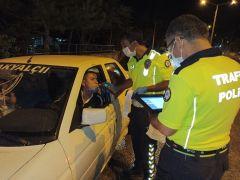 Sürücülere yönelik alkol denetimi yapıldı