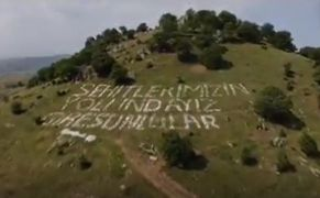 Kurtuluş Savaşı kahramanları video ile yad edildi