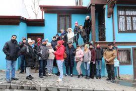 30 kişilik turist kafilesi kısıtlama saatlerinde Afyonkarahisar'ı gezdi