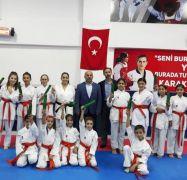 Minik karateciler geleceğe umutla bakıyor
