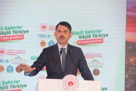 """Bakan Kurum, """"Türkiye genelinde 321 Millet Bahçesinin 57'si tamamlandı"""""""