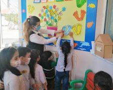Minik öğrencilere 'İngilizce ilk adım' projesi