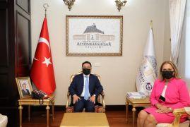 """Vali Çiçek: """"Türkiye ve Kosova arasındaki tarihi bağlar her alanda daha da güçlenecek"""""""