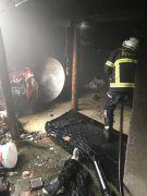 Afyon'da ev yangını
