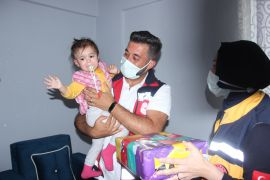 (ÖZEL) Türkiye'nin konuştuğu Beril bebek sağlığına kavuştu