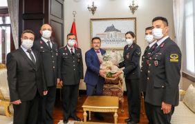 Vali Çiçek, huzur ve asayişi sağlayan jandarma personelinin sayısını açıkladı