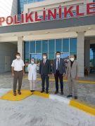 Sinanpaşa'da salgın ve aşılama süreci değerlendirildi
