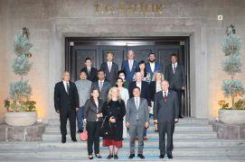 Büyükelçiler'den Vali Gökmen Çiçek'e ziyaret